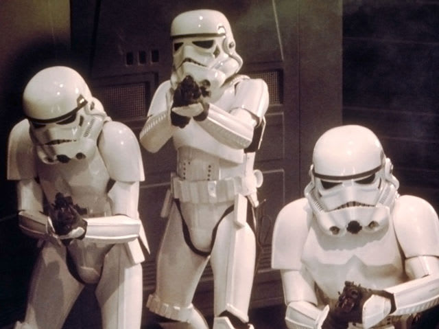 Freebie (hopefully): Who are the foot soldiers of the Galactic Empire?