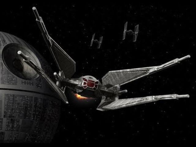 One of many types of TIE fighters!