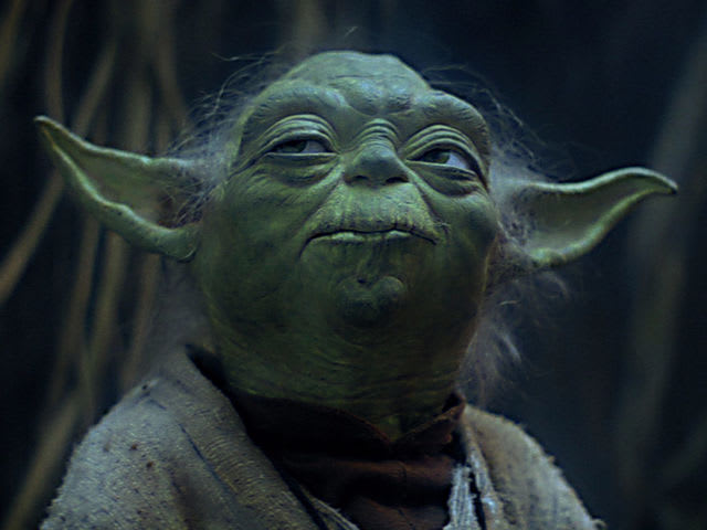 "What planet does Yoda live on, when Luke Skywalker finds him in ""The Empire Strikes Back""?"