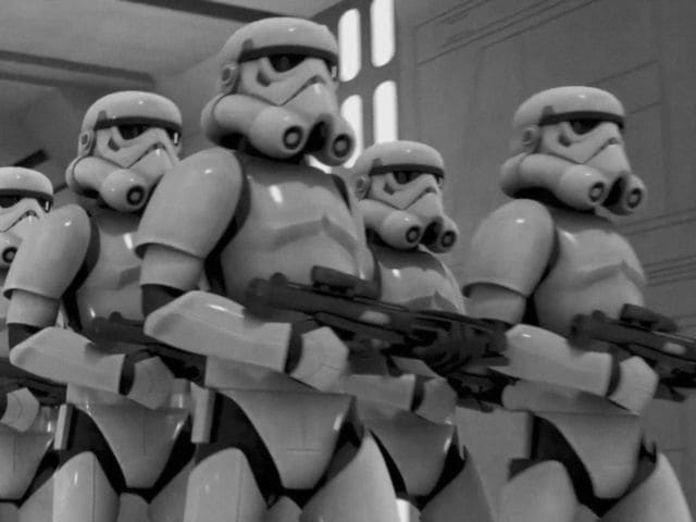 They are the stormtroopers!