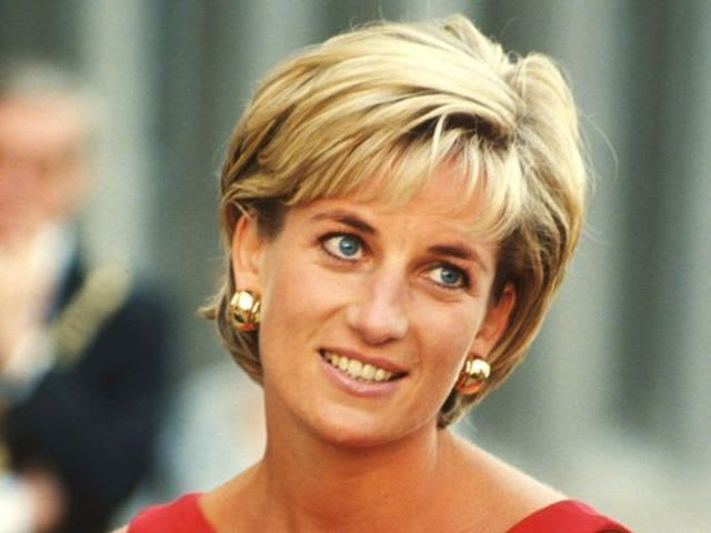 It's Diana, Princess of Wales, prolific charity worker and anti-land mine activist.