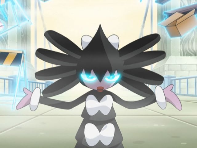 Gothita's final evolution is Gothitelle!