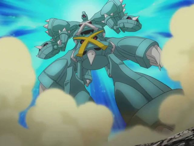 It's a Metagross!