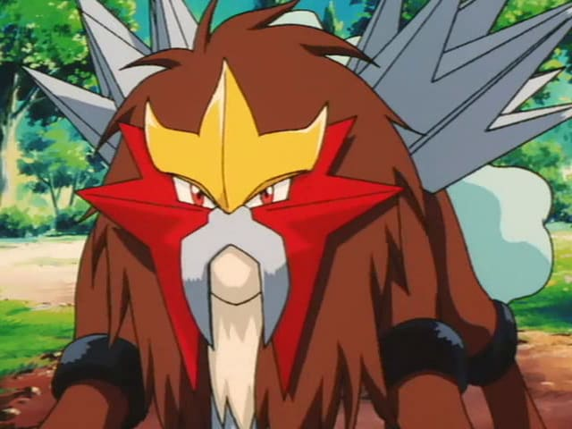It's an Entei!