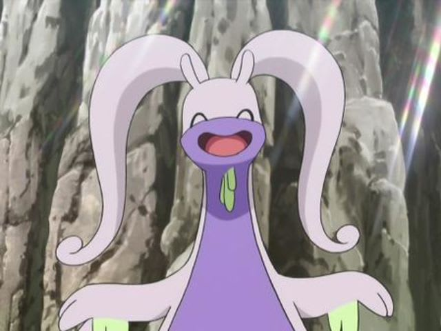 It's a Goodra!
