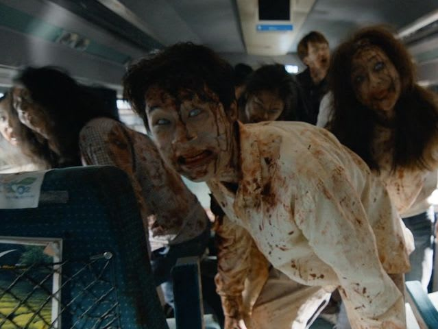 Train to Busan is a claustrophobic Korean thriller that features a father trying to protect his daughter from an entire train full of zombies that they happen to be riding.