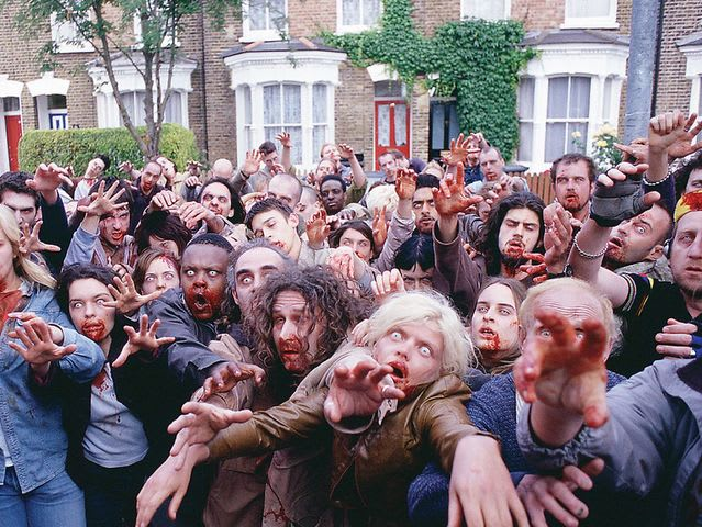 Is it just me, or do the Shaun of the Dead zombies have an extra vacant look in their eyes?