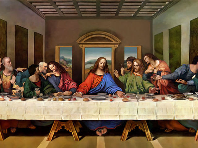 It's The Last Supper!