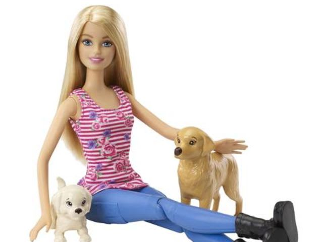 What are Barbie's dog's names?
