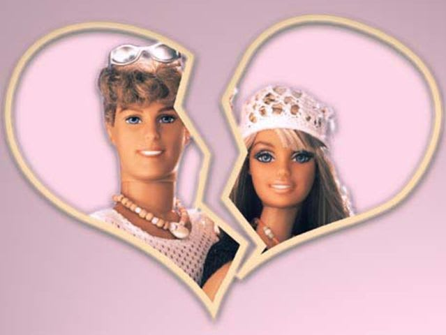 Which year did Barbie and Ken famously break up?