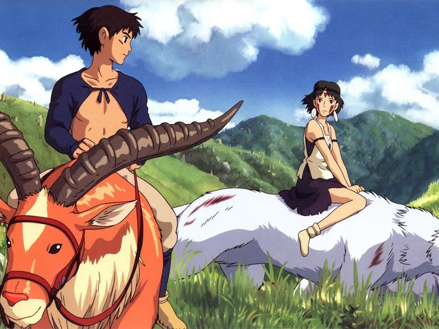 Answer: Princess Mononoke!