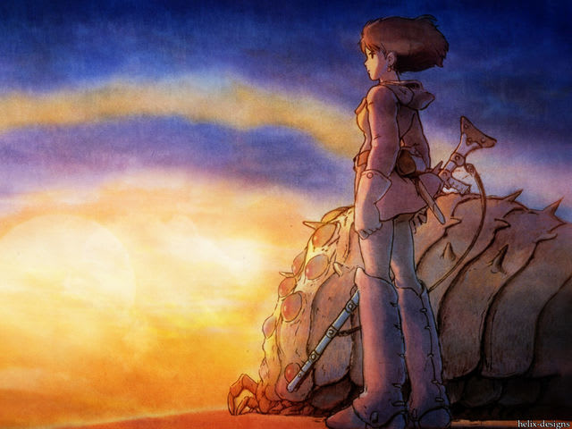 Answer: Nausicaa Of The Valley Of The Wind!