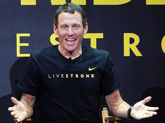 Lance Armstrong! I know you remember that bracelet you loved... all that motivation it gave you? And then for what!? Nike dropped them and so did you.
