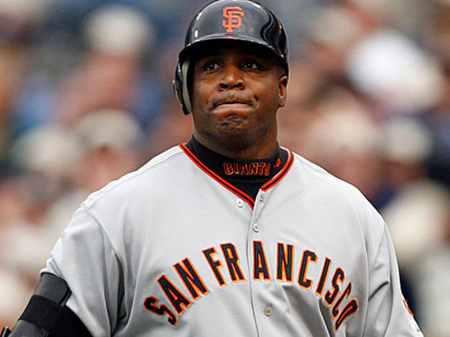 Barry Bonds! Still disliked by even his home team, Barry Bonds made/took hit, after hit, after hit to get the record. It looked good while it happened though, right?