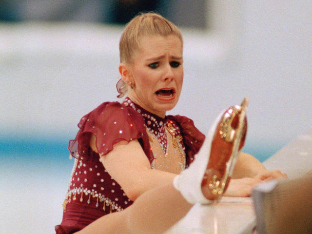 Tonya Harding! She actually hired somebody the night before to break Nancy Kerrigan's leg... is this real life lol?