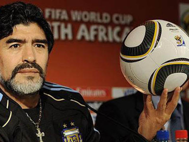 As his first goal ever, Maradona reached his hand above his head to knock the ball in the goal and the refs missed it! Argentina won with his spectacular 2cnd goal he scored, but England still was NOT happy.