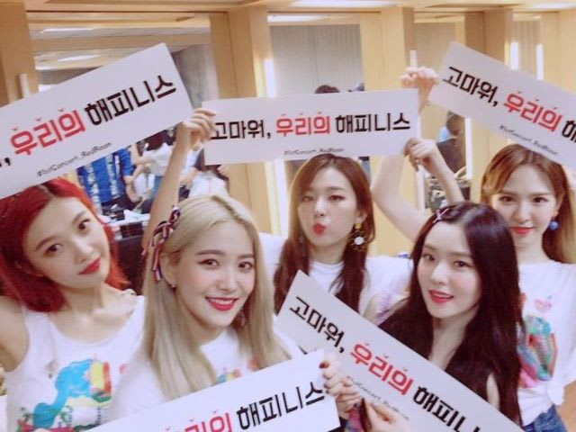 First and foremost, who is your Red Velvet bias?