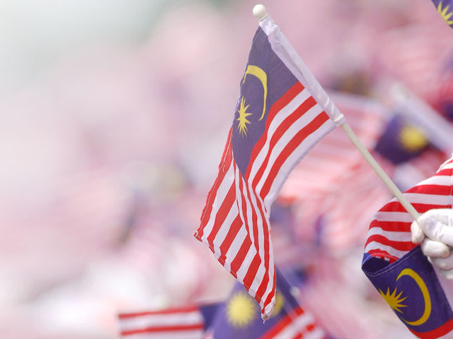 Image result for several malaysian flag display