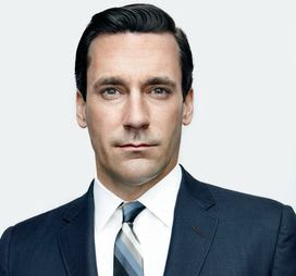 Don Draper. I keep myself perfectly pulled together, complete with an incredible side-part