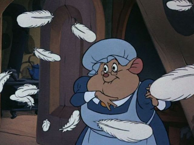 It's Mrs. Judson, The Great Mouse Detective's housekeeper!