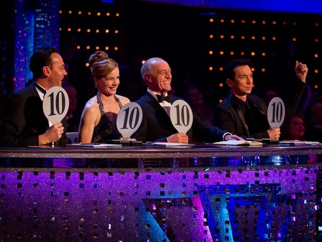 Who was the first contestant to get a 40 out of 40 in this year's Strictly Come Dancing?