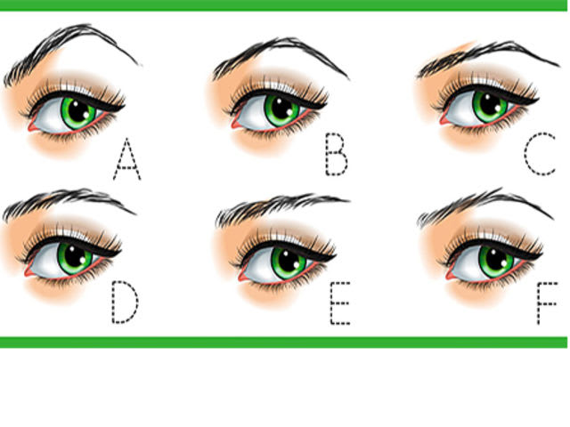 Which option best illustrates the shape of your eyebrows?