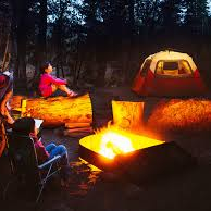 Go camping with a large group of friends