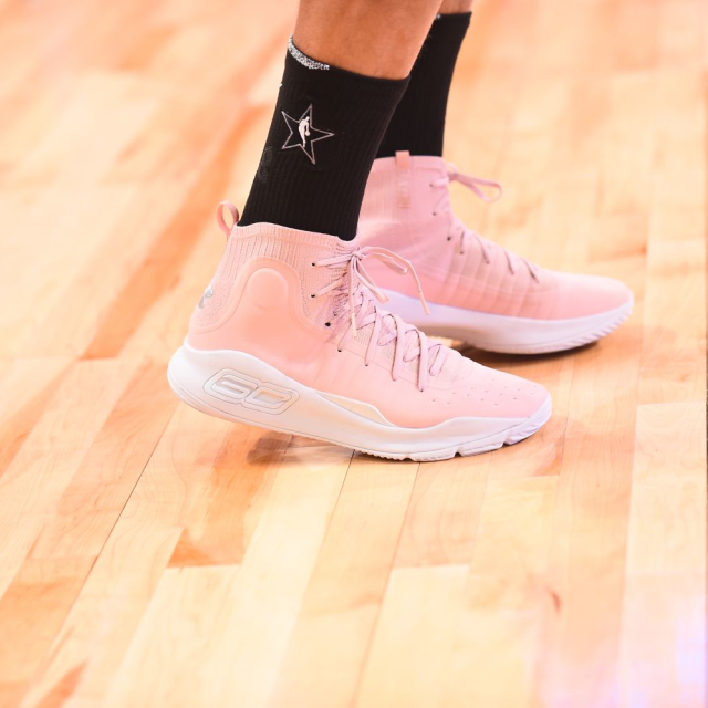 87ed8383854642 Which player had the best sneakers in the 2018 NBA All-Star Game  Bradley  Beal. Bradley Beal. Stephen Curry