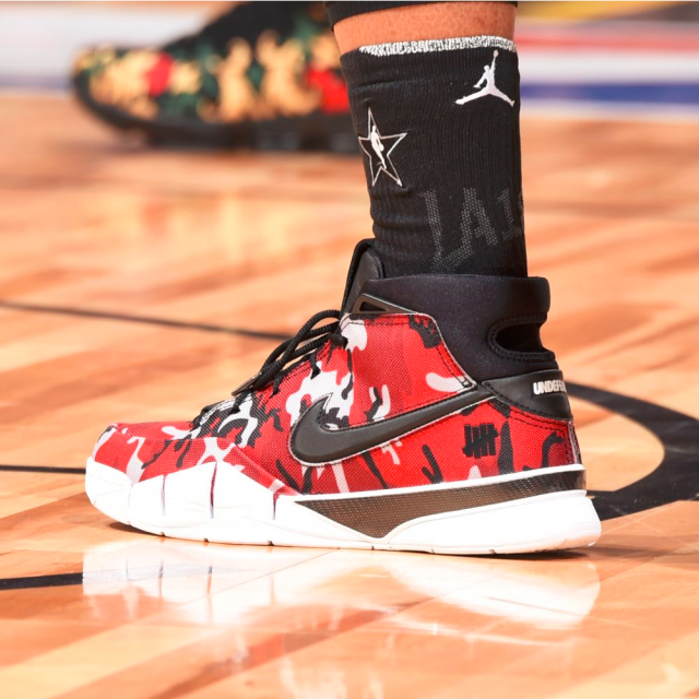 652089020af5f6 Which player had the best sneakers in the 2018 NBA All-Star Game  Bradley  Beal. Bradley Beal. Stephen Curry. Stephen Curry. DeMar DeRozan