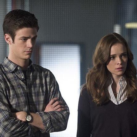 Barry and Caitlin