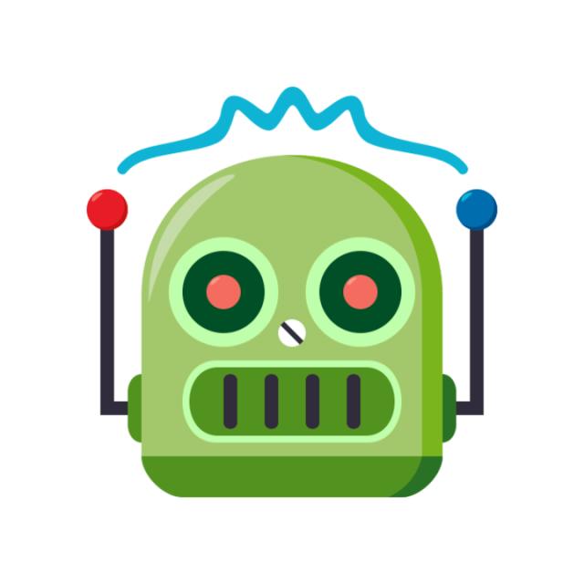 I am a robot.