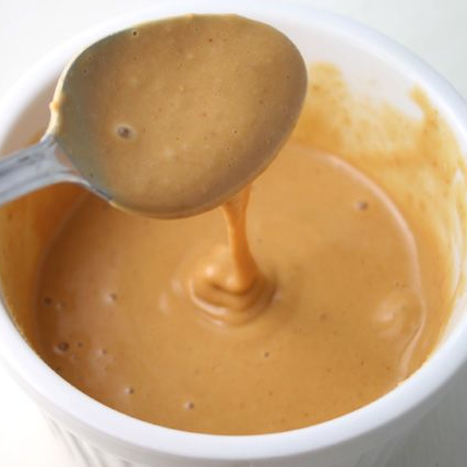 Peanut butter syrup