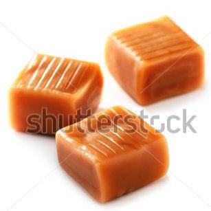 Caramel chunks