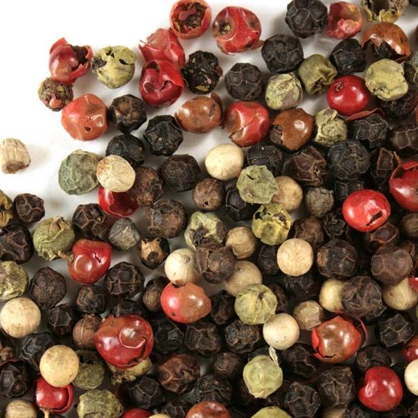 Mixed peppercorns