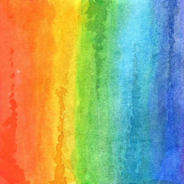 Rainbow colors!