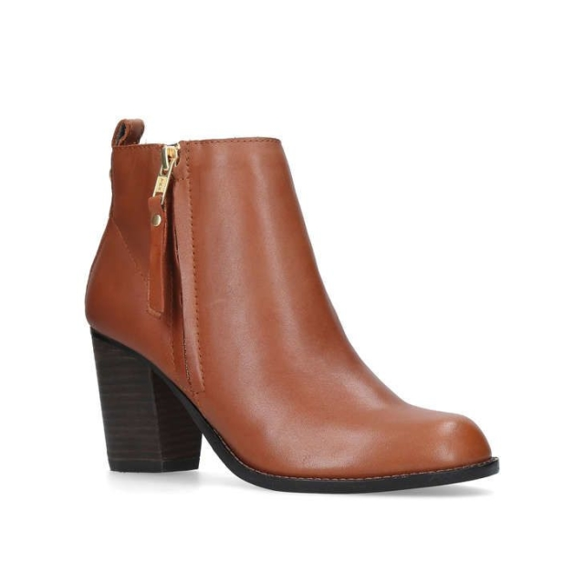 Tan ankle boots  Image courtesy of Kurt Geiger