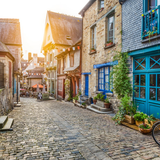 Tiny village!