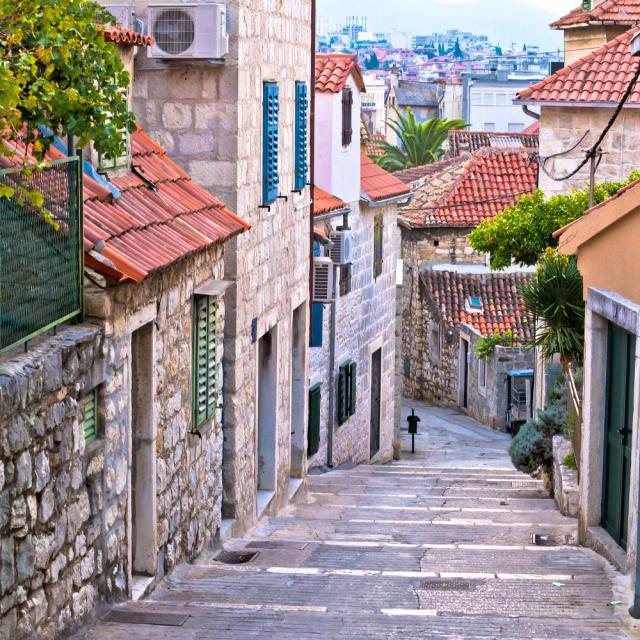 A walking tour through Split, Croatia