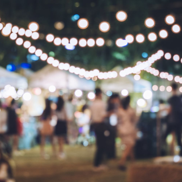 A trip to a festival, to support local artists and businesses