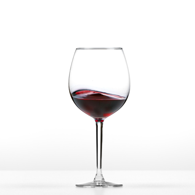 A glass of romantic wine