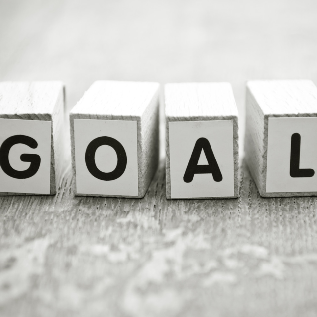 Setting and achieving a goal