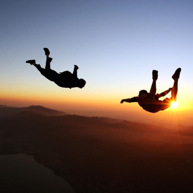 Skydiving in the Florida Keys