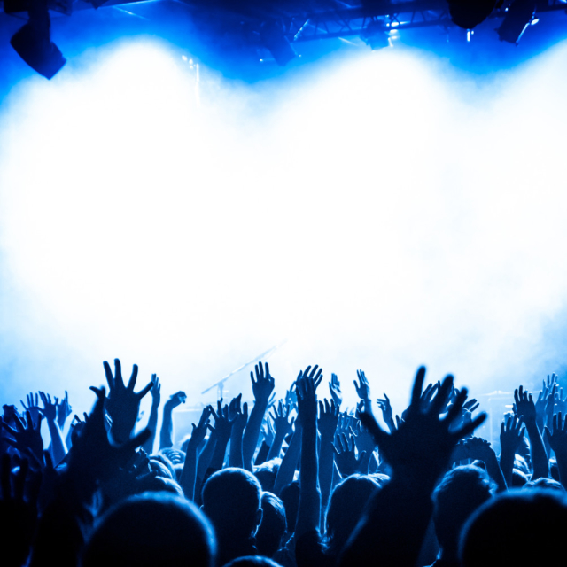 An expensive star concert!