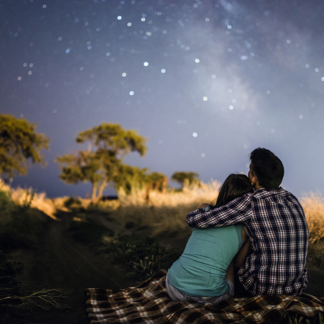Stargazing. The sky is so beautiful!