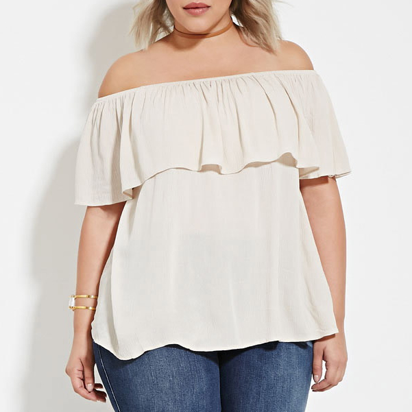 An Off The Shoulder Top