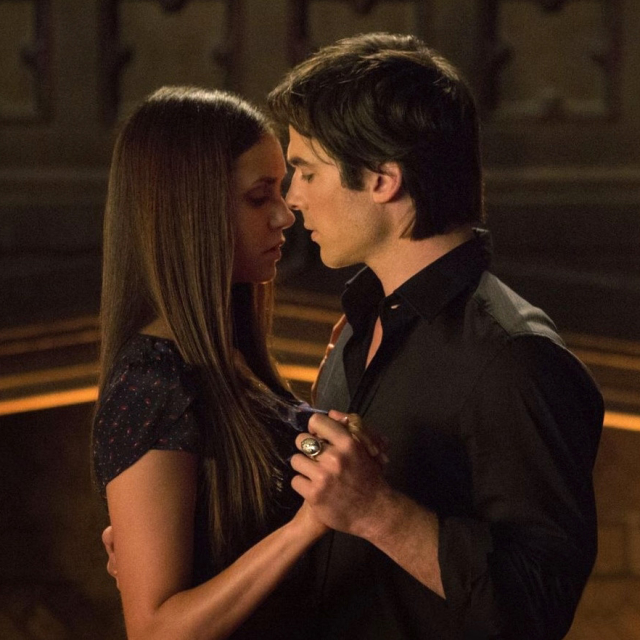 Delena, it's all hot and passionate.