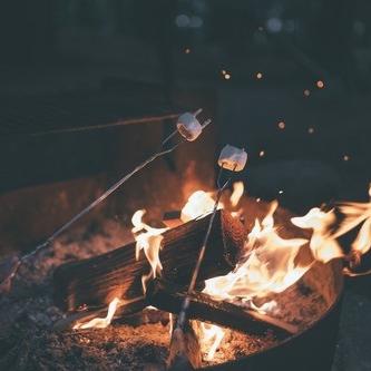 Huddling Around a Bonfire