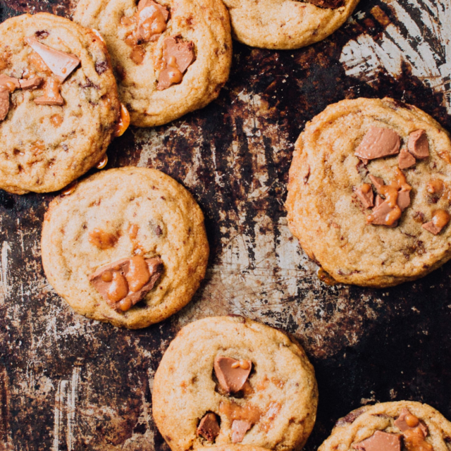Sticky Toffee Cookies