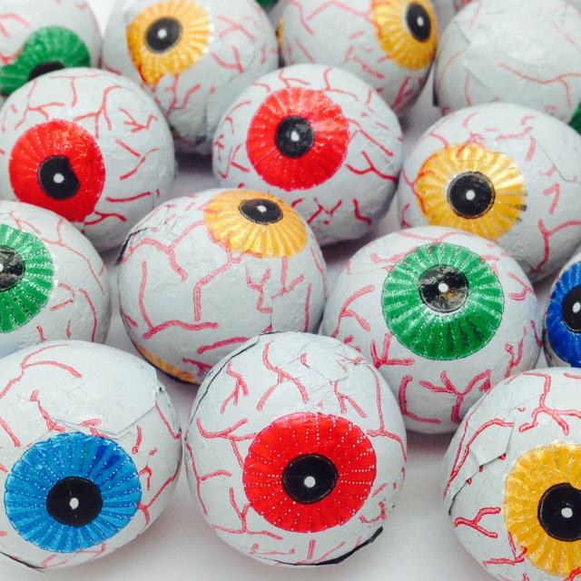 Caramel Eyeballs