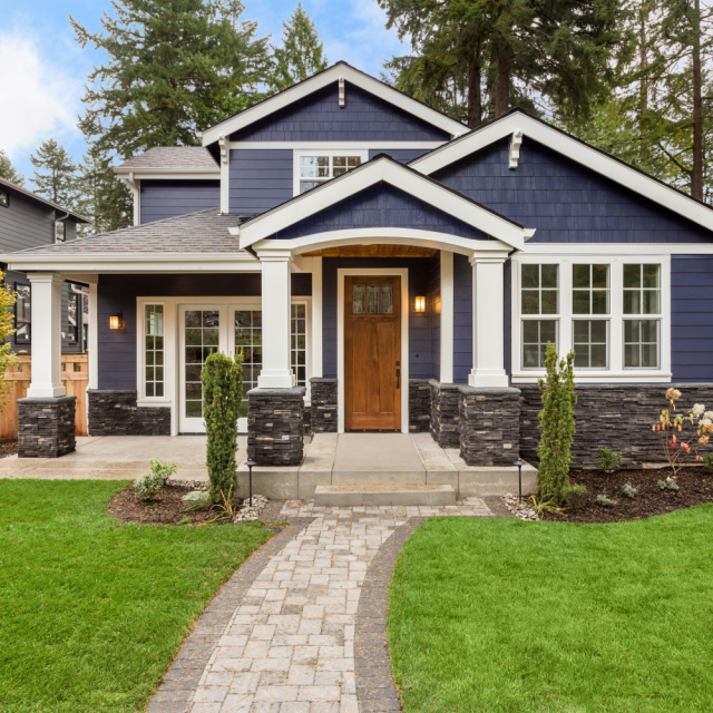 the classic family house